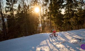 Zimowe trasy rowerowe – Klimczok